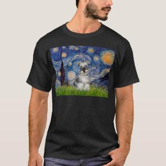 T-shirt Schnauzer 1N - Nuit étoilée