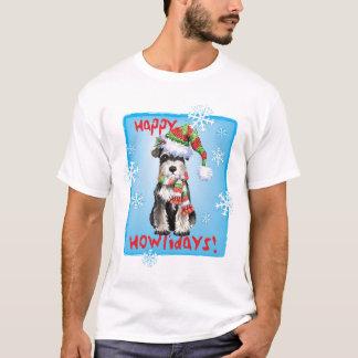T-shirt Schnauzer miniature heureux de Howlidays