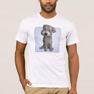 T-shirt Schnoodle (gris)