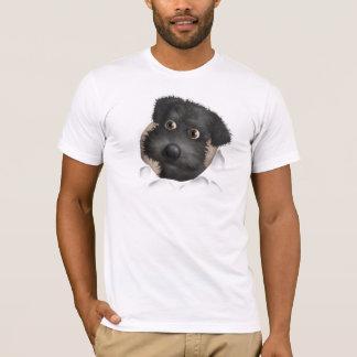 T-shirt Schnoodle (noir) éclatant