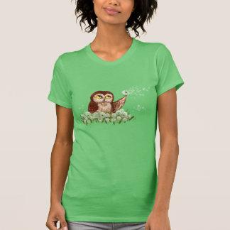 T-shirt Scie-affûtez le pissenlit de hibou