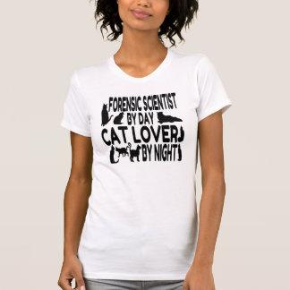 T-shirt Scientifique légal d'amoureux des chats