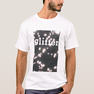 T-shirt scintillement