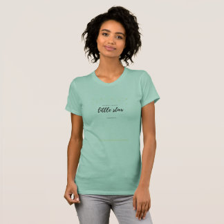 T-shirt scintillement de scintillement peu d'étoile