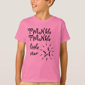 T-shirt Scintillement, scintillement peu d'étoile
