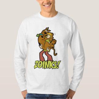 T-shirt Scooby-Doo et Zoinks hirsute !
