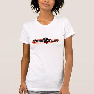 T-shirt Scoop décontracté de dames de F2F