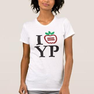 T-shirt Scoop décontracté de dames de logo de NYULYP