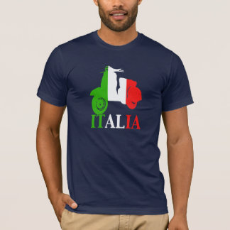 T-shirt Scooter de l'ITALIE