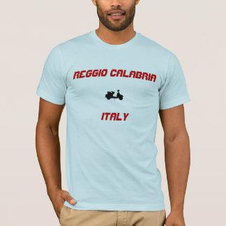 T-shirt Scooter du Reggio de Calabre, Italie