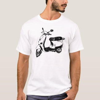 T-shirt Scooter noir