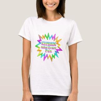 T-shirt Scrapbooking plus d'amusement