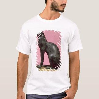 T-shirt Sculpture d'un chat, défunte période