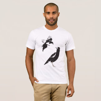 T-shirt Se réunir de deux pies