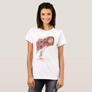 T-shirt Se tenir dessus sur l'espoir : Esprit de papillon