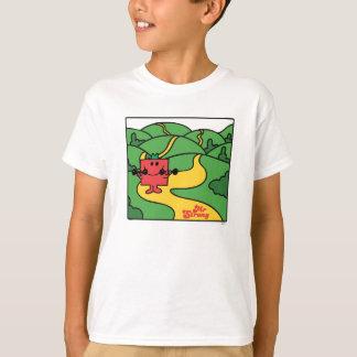 T-shirt Séance d'entraînement de région boisée de M.