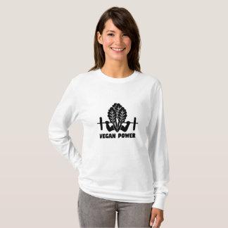 T-shirt Séance d'entraînement végétarienne végétalienne de