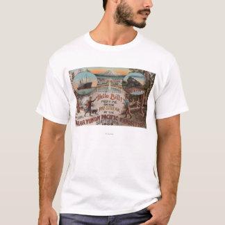 T-shirt Seattle, WAAD pour l'expo de l'Alaska le Yukon