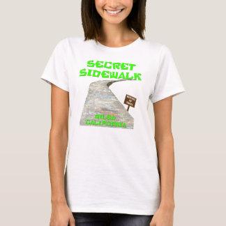 T-shirt secret de trottoir de canyon de Niles