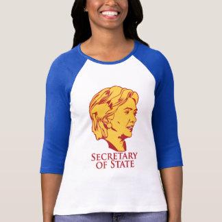 T-shirt Secrétaire d'état de Hillary Clinton