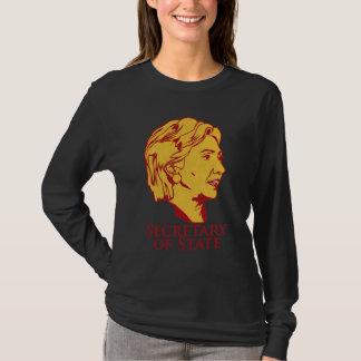 T-shirt Secrétaire d'état de Hillary Clinton - customisé