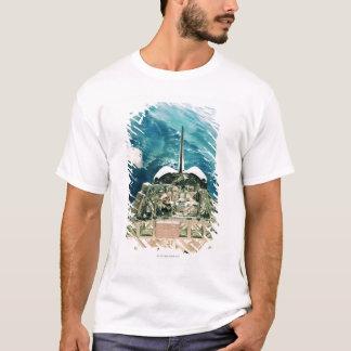T-shirt Section de queue de navette spatiale