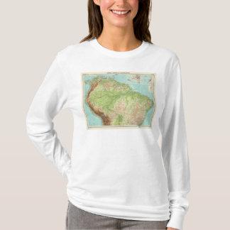T-shirt Section du nord de l'Amérique du Sud