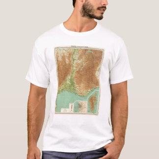 T-shirt Section du sud-est Corse Marseille de la France