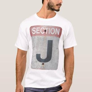T-shirt Section J - La chemise officielle