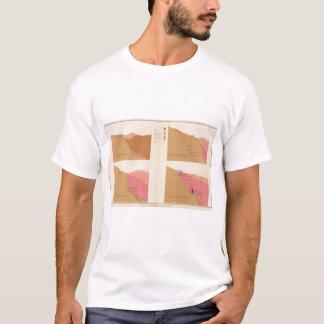 T-shirt Sections transversales verticales du filon, axe de