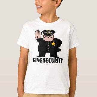 T-shirt sécurité d'anneau, porteur d'alliances