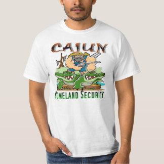 T-shirt Sécurité de patrie de Cajun