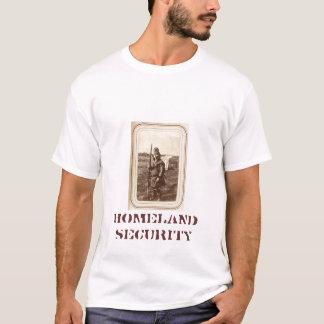 T-shirt Sécurité de patrie (depuis 1050 dessus arrière)