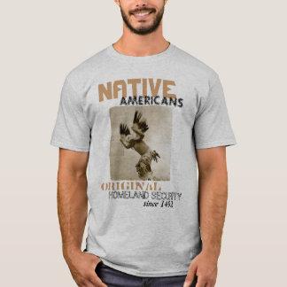 T-shirt Sécurité de patrie indigène