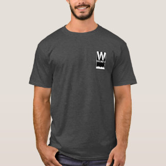 T-shirt Sécurité T de salle avec un plus grand logo de
