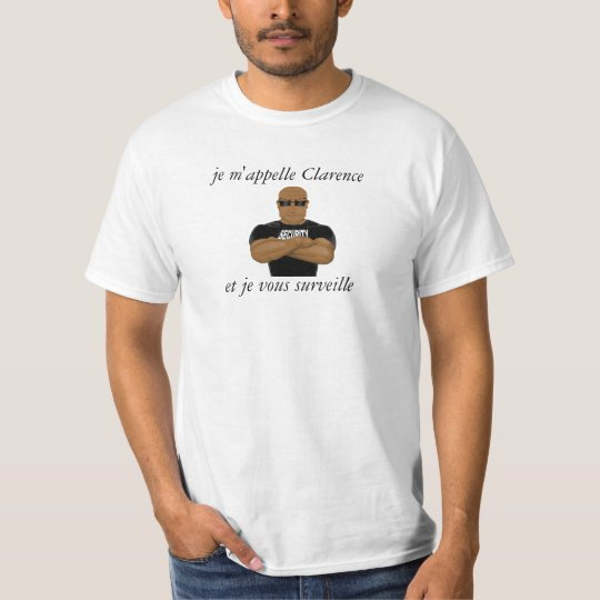 """t-shirt """"security"""" homme, man"""