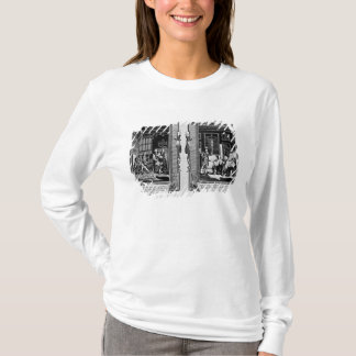T-shirt Seigneur Cromwell présente la bible à Henry VIII