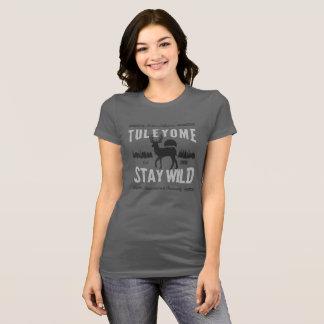 T-shirt Séjour sauvage, Bella Jersey T, asphalte des