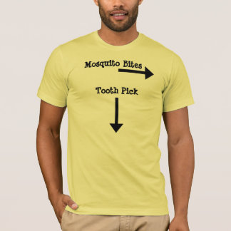T-shirt Sélection de dent, morsures de moustique