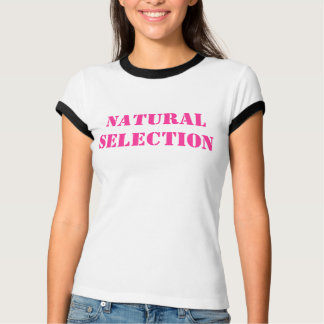 T-shirt Sélection naturelle