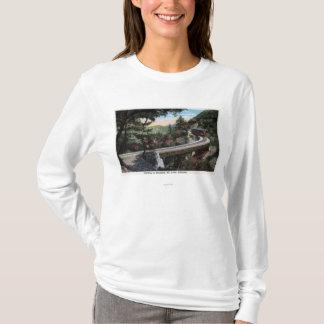T-shirt S'élever à la vue de Cloudland