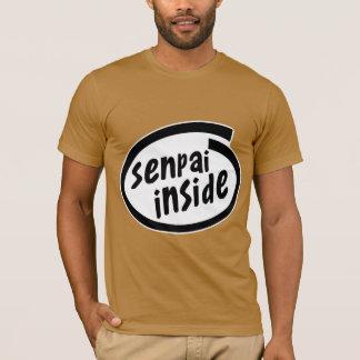 T-shirt Senpai à l'intérieur de parodie
