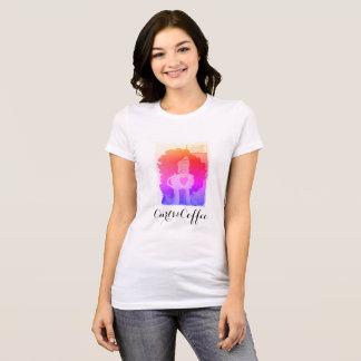 T-shirt Sensation lumineuse Curls&Coffee de Cali