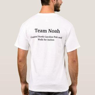 T-shirt Sensibilisation sur l'autisme de Noé d'équipe