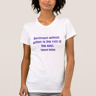 T-shirt Sentiment sans action