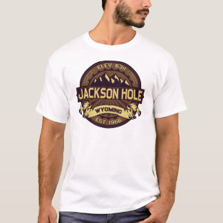 T-shirt Sépia de Jackson Hole