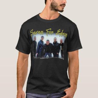 T-shirt Sept pour la bande et le logo T d'Éden