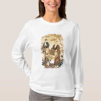 T-shirt Sept sages dans la forêt en bambou