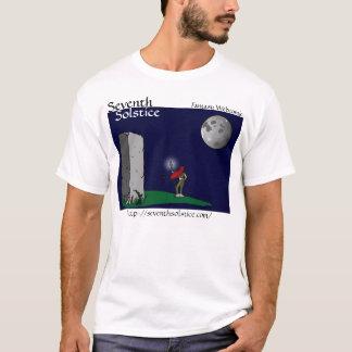 T-shirt Septième chemise d'éclaboussure de solstice