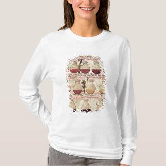 T-shirt Série de cruches pour l'analyse d'urine